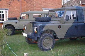 Two Series 3 109 Fitted For Radio (FFR) Land Rovers