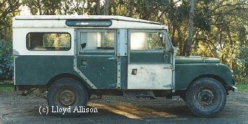 Re-engined 107in station wagon, (c) Lloyd Allison