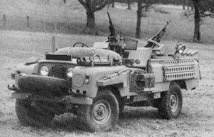 SIIA 'Pink Panther' SAS desert petrol vehicle