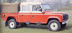 Land Rover 127 - extra long wheelbase