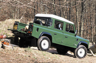 Land Rover Defender, Double Cab