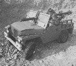 Land Rover 'Lightweight' Gunship with 106mm anti-tank gun