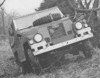Series III Lightweight, note bonnet shape and the oil cooler behind the grille