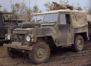 Commando SIII Lightweight on manoeuvres