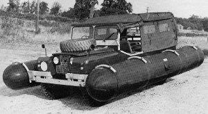 Experimental amphibious SIIA 109