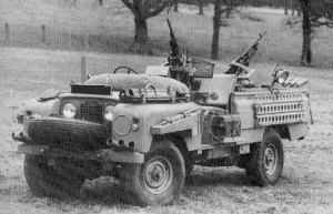 SIIA 'Pink Panther' SAS desert petrol vehicle